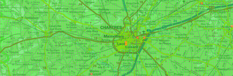 Carte verte orange pour la géothermie à Chartres