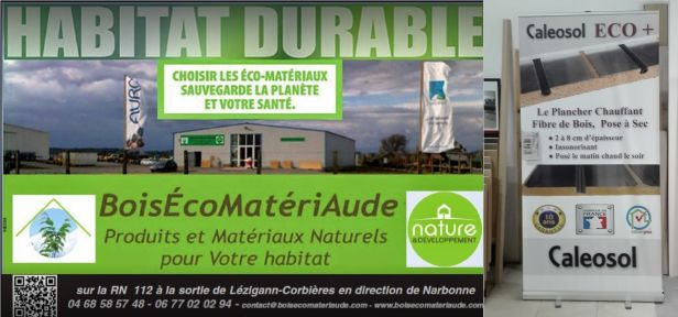 Magasin plancher chauffant Narbonne BoisEcoMateriAude