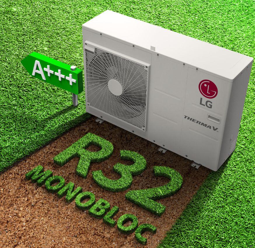 Pompe à chaleur R32