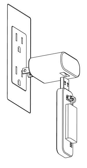 La recharge du tsermostat point de rosée IFTTT Alexa se fait en 4heures avec un simple chargeur USBbranché sur une prise ou sur un PC