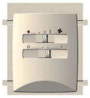 Commande pour radiateur réversible pour climatisation écologique