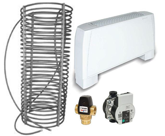 Kit climatisation écologique 35 m² zone climatique h1a h2a h1b