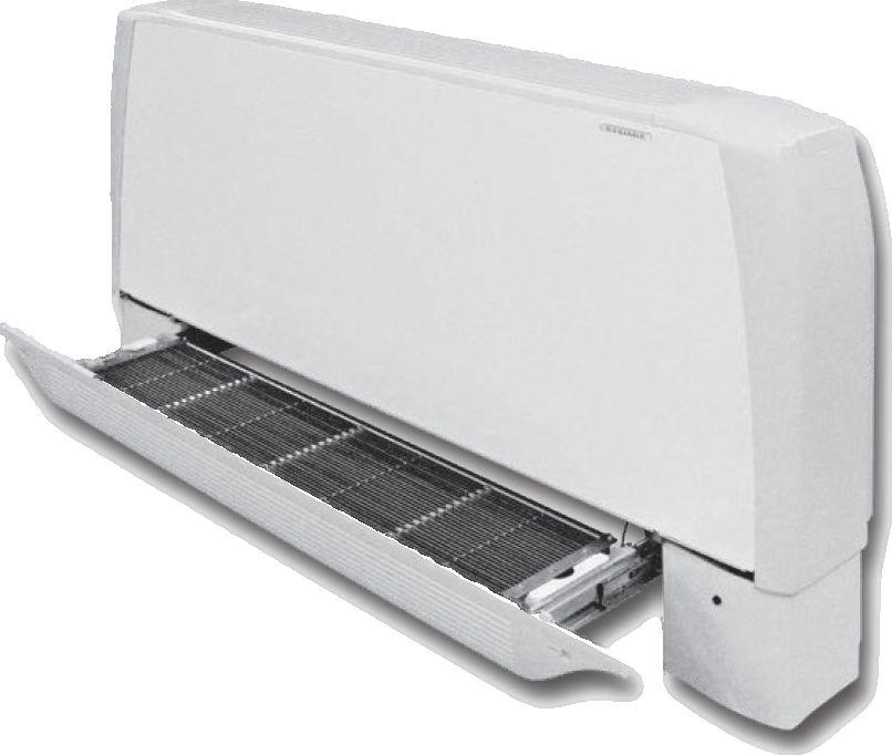 Climatisation pour combles par purificateur d'air associé à un radiateur réversible