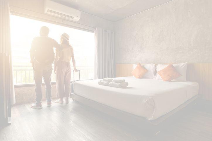 Climatiser une chambre d'hôtel