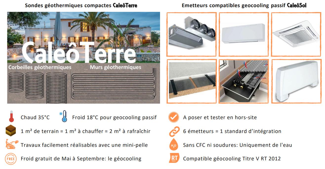 Sondes géothermiques et les émetteurs compatibles pour climatiser les écoles, collèges et lycées