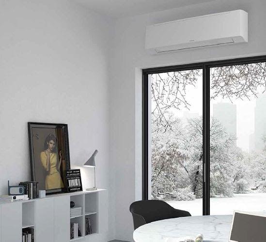 Climatisation pour comble avec console murale