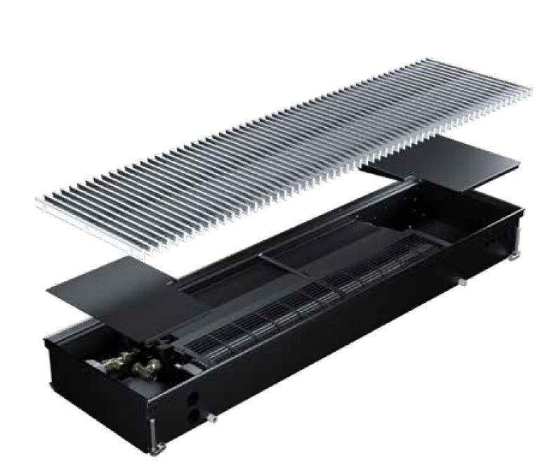 climatisation d'une salle serveur par caniveau