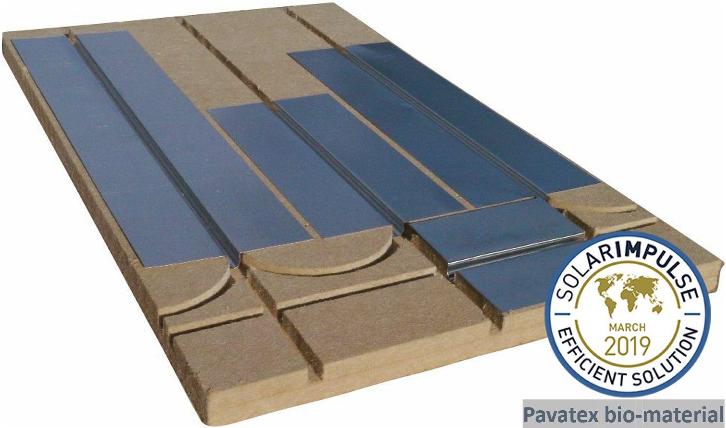 Echantillon de  plancher chauffant Caleosol Tradi ECO+ 40mm