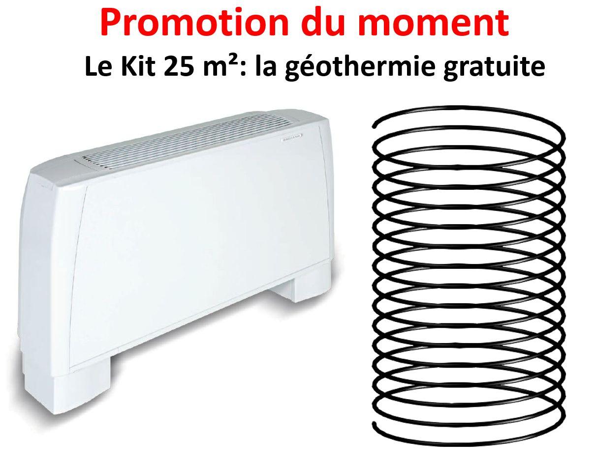 La promotion climatisation pour combles 25m²