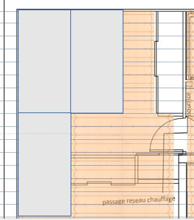 Position des plaques de plâtre par rapport aux fourrures et plafond chauffant