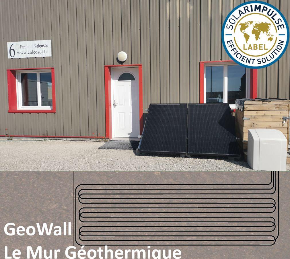 Notre banc de test: panneaux solaire, pompeS à chaleur géothermique, mur géothermique