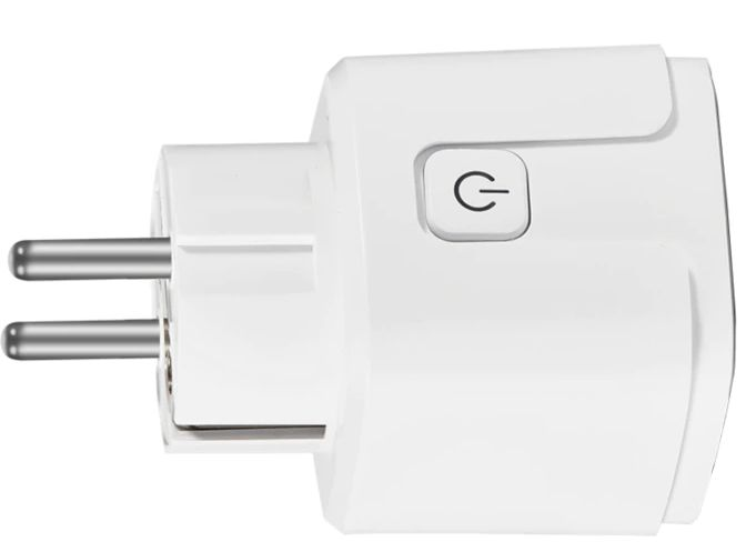et  relier l'interrupteur domotique à une prise de courant ou autre équipement
