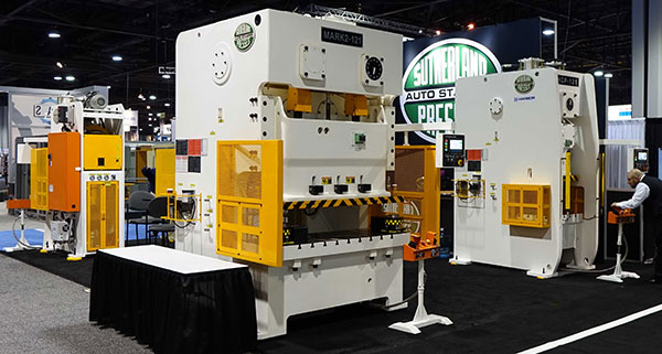 SEE US AT NORTH AMERICAS LARGEST FAB - STAMPING & FORGE TRADE SHOWS