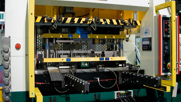 ECCENTRIC PLUNGER GUIDED STRAIGHT SIDE STAMPING & FORMING PRESSES