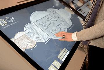 touchscreen exhibit