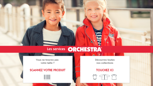 Orchestra Turns to IntuiLab and IntuiFace to Deploy Multi-Touch Endless Aisle and POS Experience for