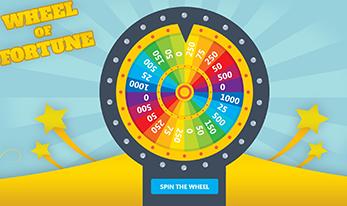 wheel of fortune mini game