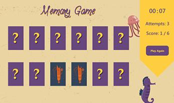 Memory Education Game
