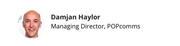 Damjan Haylor, POPcomms