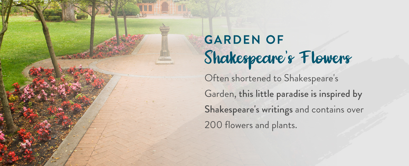 Garden of Shakespeare's Flowers