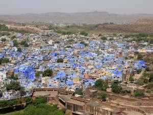 trip89_Indien_Jodhpur_Blick auf die Stadt