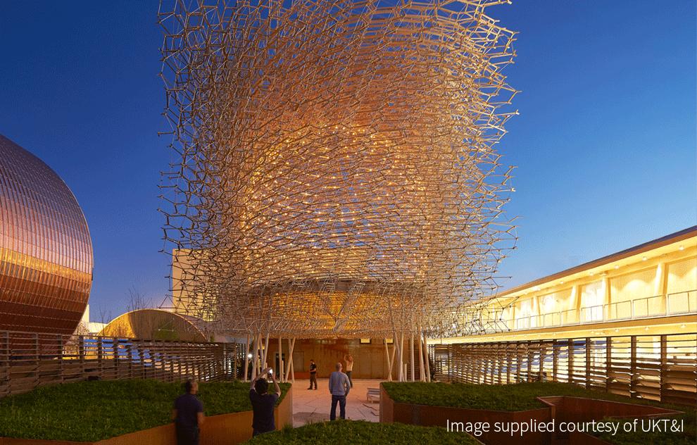 UK Pavilion, Milan 2015 Expo