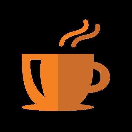 surprise break coffee cup