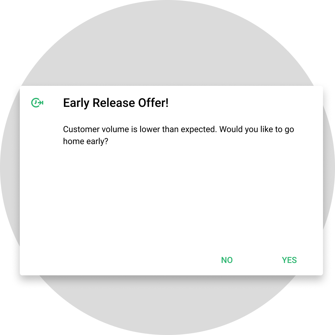 early release prompt to improve over time