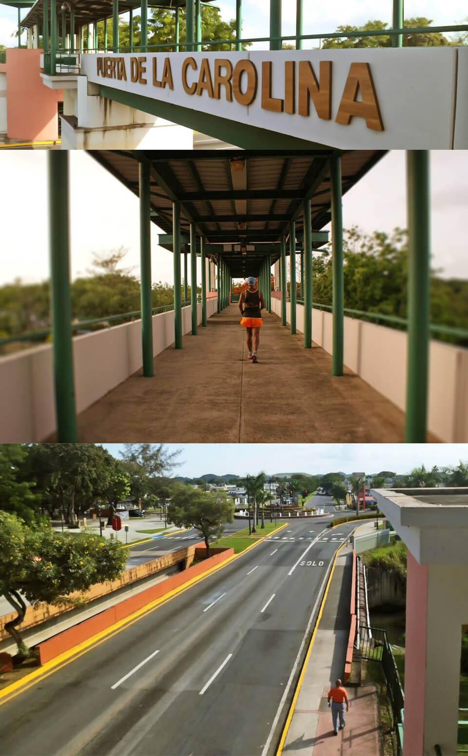 Puente Puerta de la Carolina, en la Avenida Monserrate (Paseo de los Gigantes), Carolina, Puerto Rico.