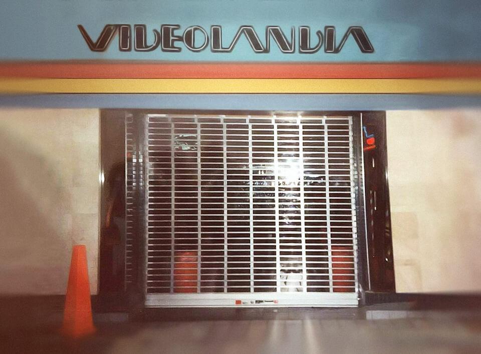 Foto vieja de Videolandia, en el Centro Comercial Plaza Carolina, Carolina, Puerto Rico.