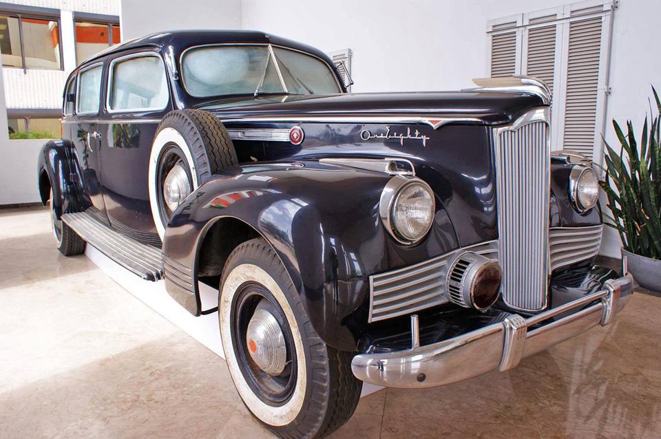 Studebaker-Packard: carro usado por Luis Muñoz Marín, Carolina, Puerto Rico.