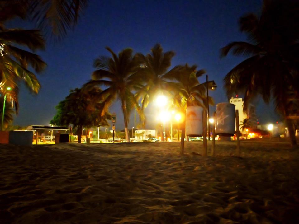 Playa Ocean Park, San Juan Puerto Rico.