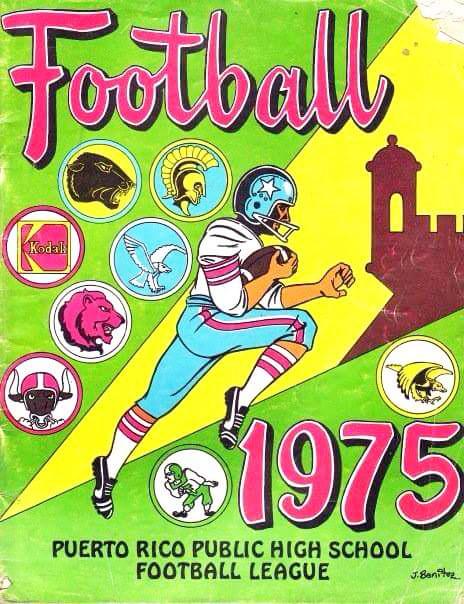 Equipo de Football de la Escuela Superior Dr. José M. Lázaro, Urb. Country Club, Carolina, PR.