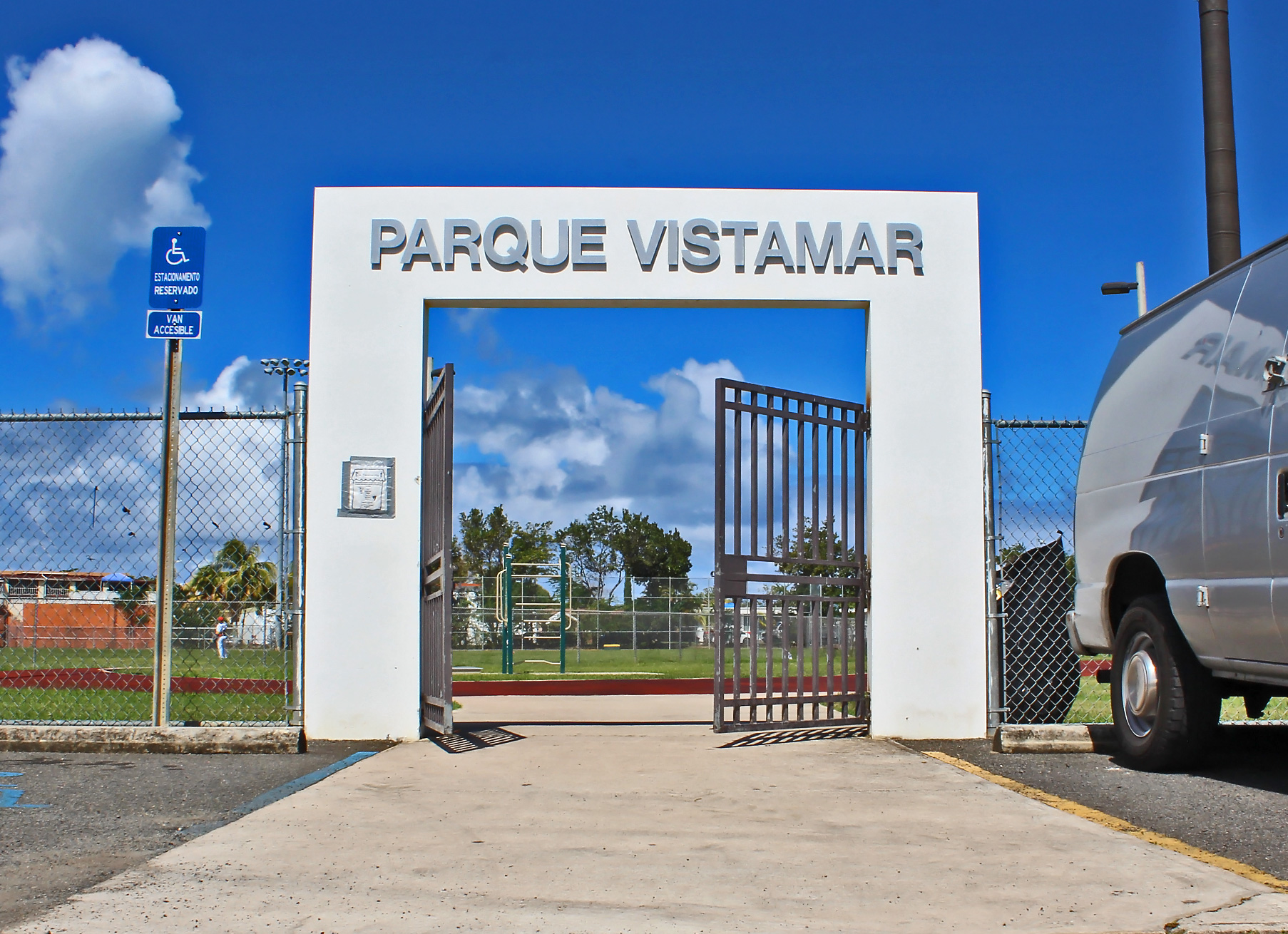 Parque Vistamar, Carolina, Puerto Rico.