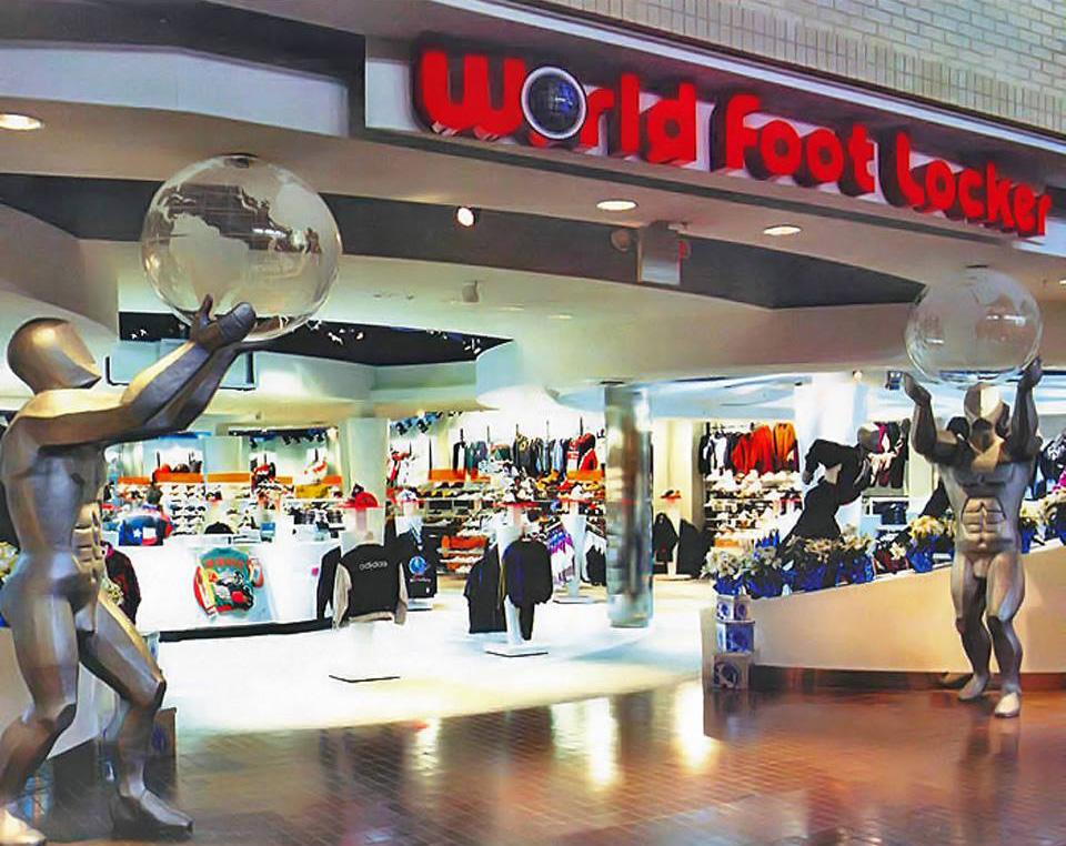 World Foot Locker, Plaza Carolina, Carolina, Puerto Rico.