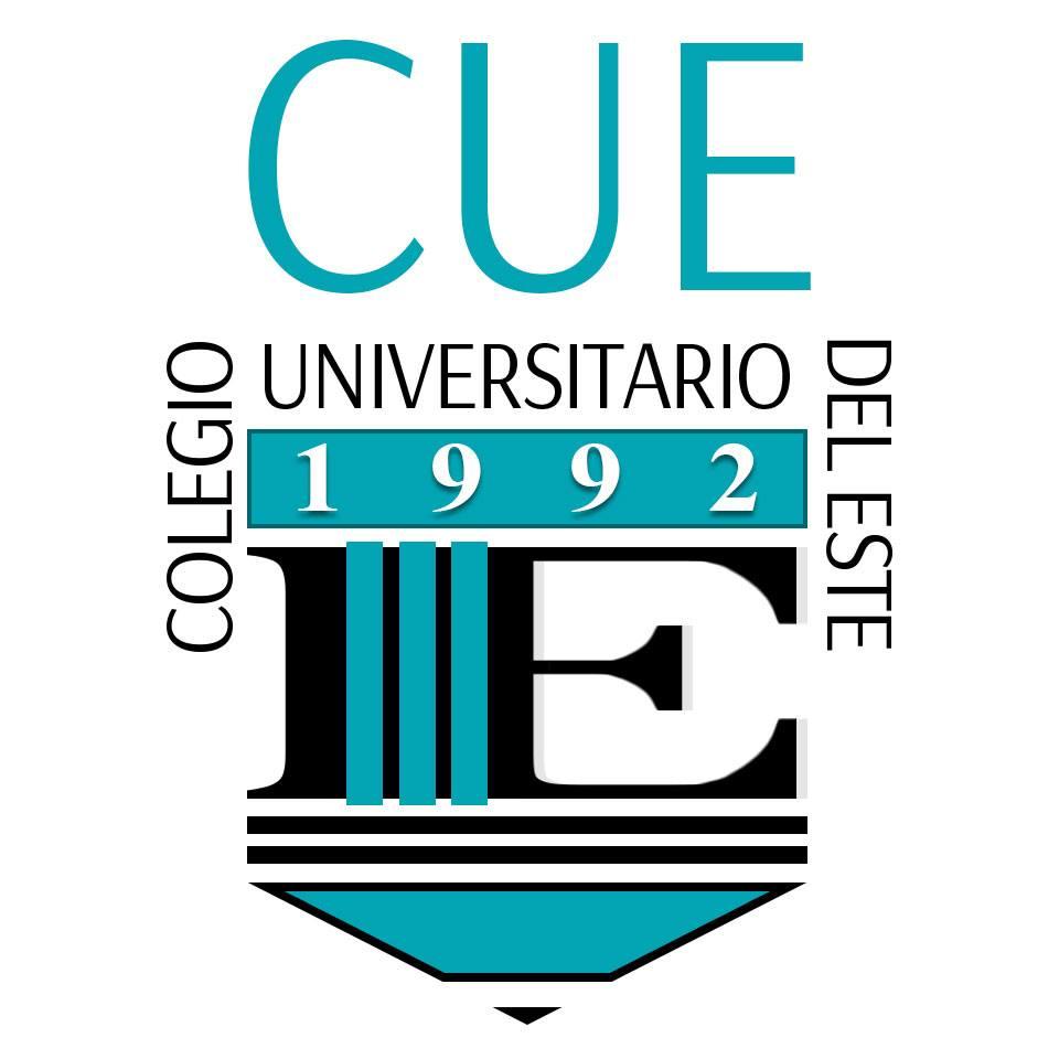 Logo del Colegio Universitario del Este (CUE), ahora UNE, Carolina, Puerto Rico.