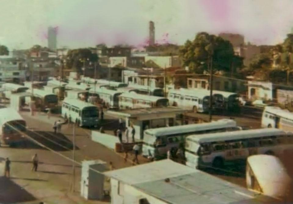 Capetillo. Foto vieja de guagua de la AMA (Autoridad Metropolitana de Autobuses), Puerto Rico.