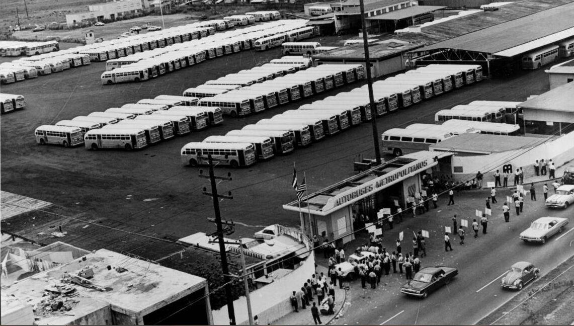 Taller de la AMA. Historia de la AMA (Autoridad Metropolitana de Autobuses), Puerto Rico.