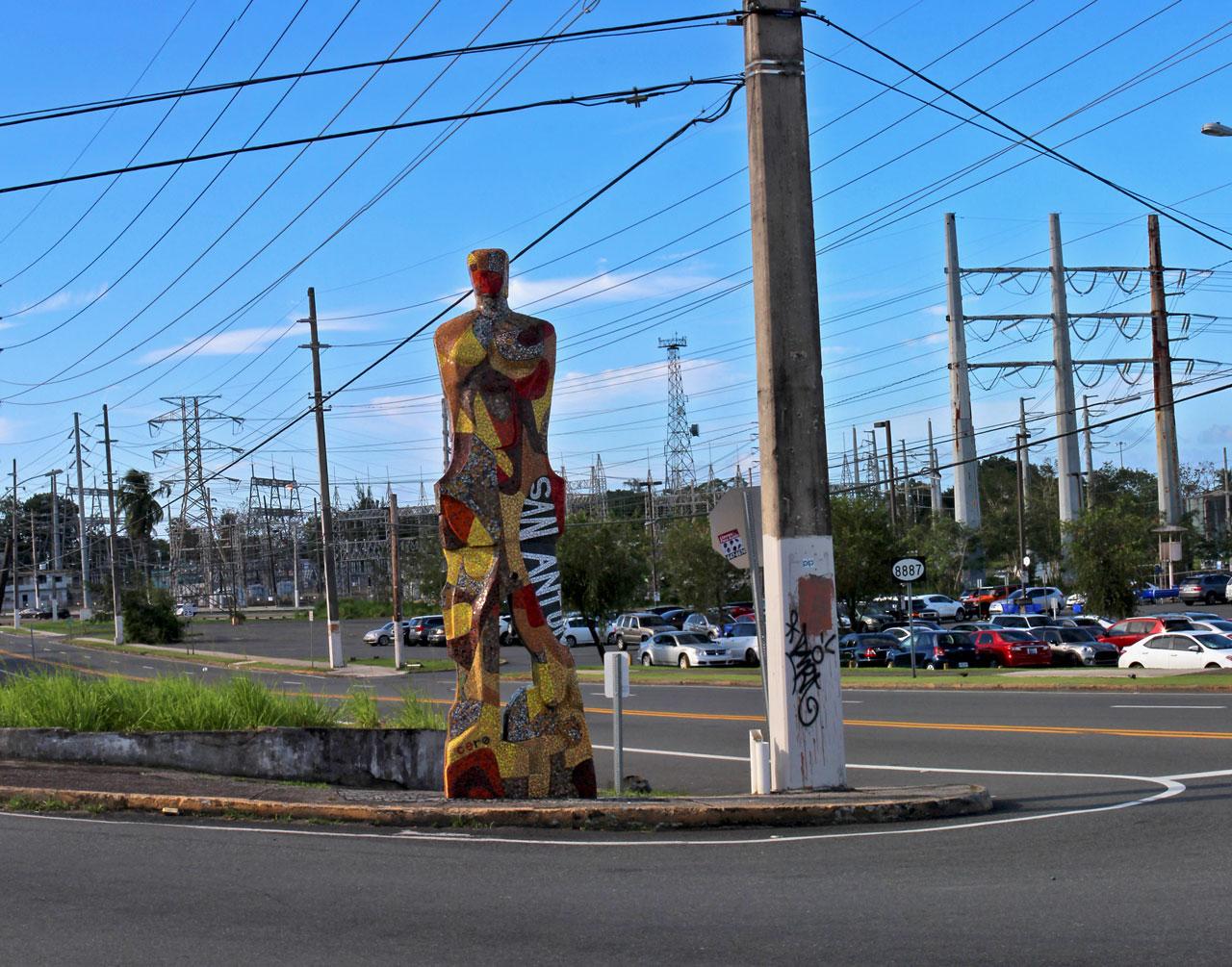 Mosaico (Yacimiento de Gigantes) en San Antón, Carolina, Puerto Rico.