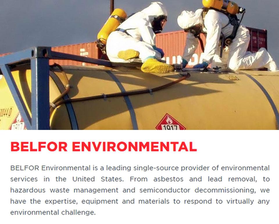 Belfor Environmental.