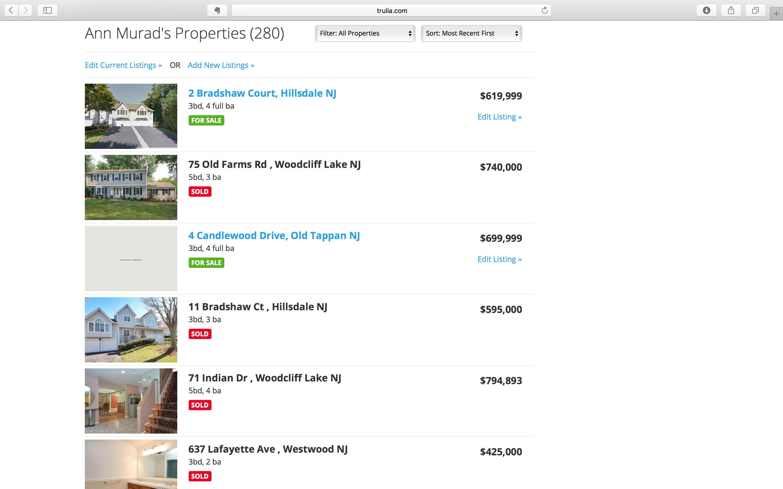 Ann Murad's Properties