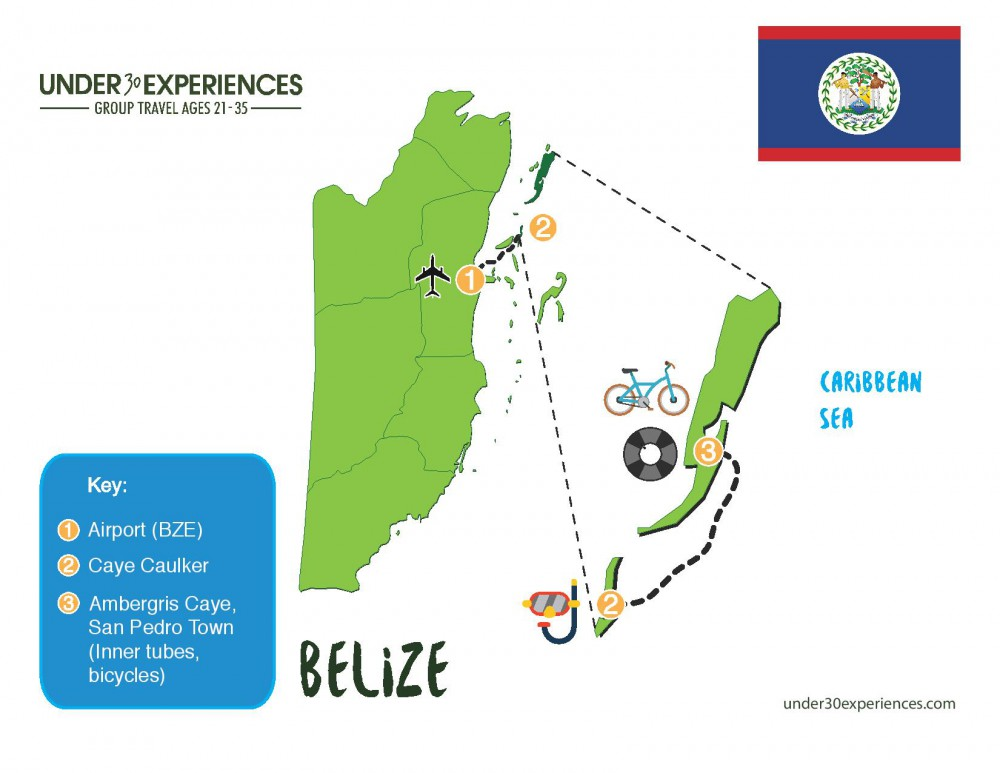 belize trip itinerary