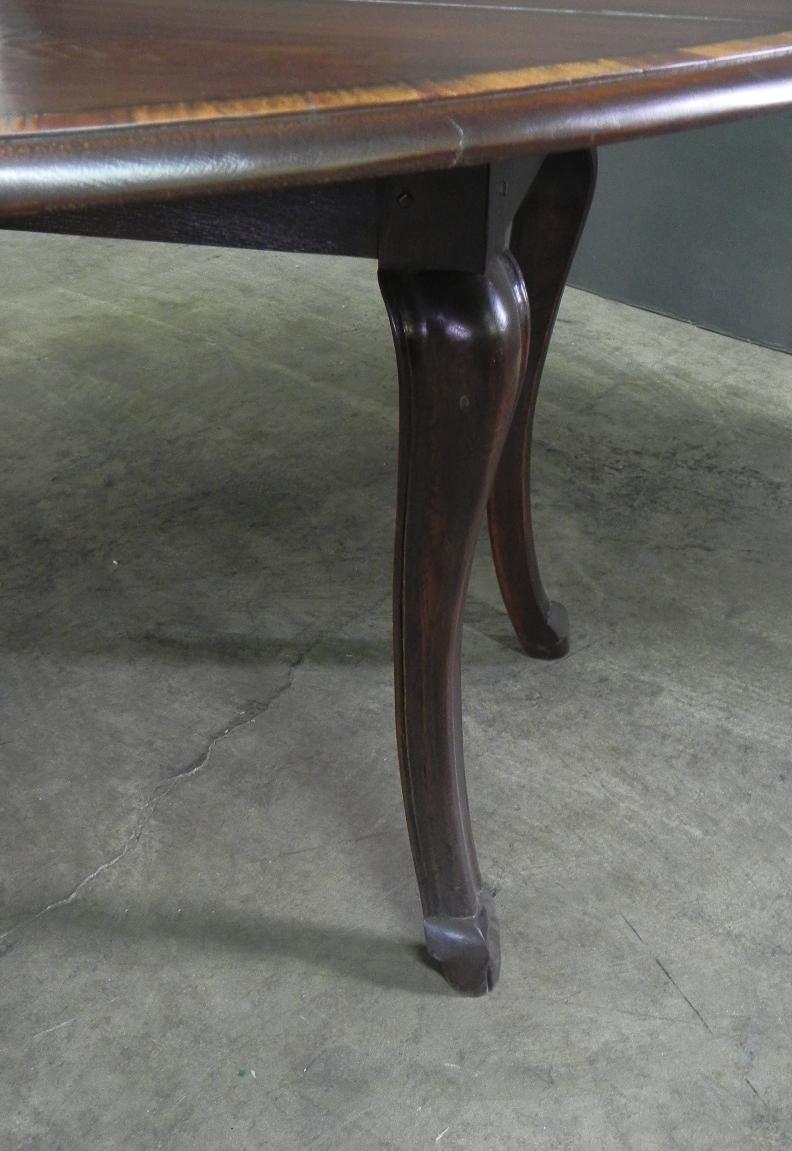 Hoof Foot Drop Leaf Table