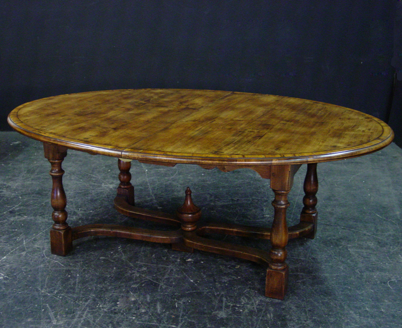 Charmant Finish Shown: Antique Cherry. All Dining Tables