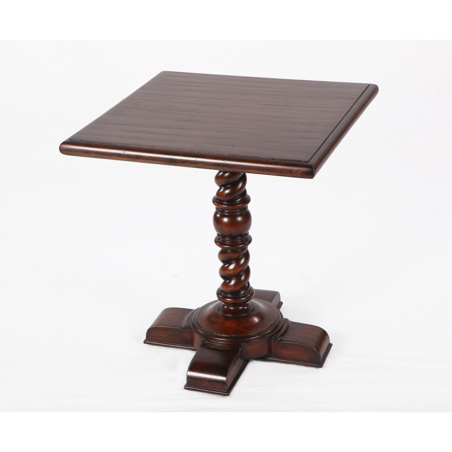 Side Table 40 Euro.European Cherry 24 Square Side Table
