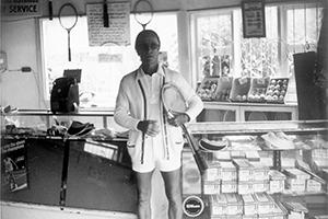 Eddie Jensen roundhouse Pro Shop c.1972
