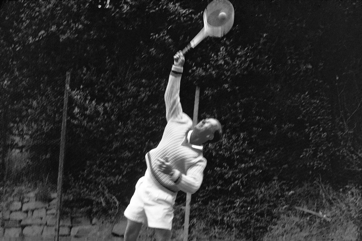 Eddie Jensen c.1950s Rushcutters Bay courts