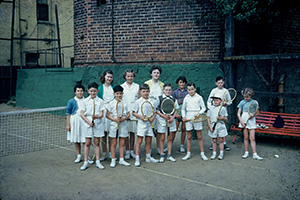 Children's Saturday morning class 1958, Rushcutters Bay