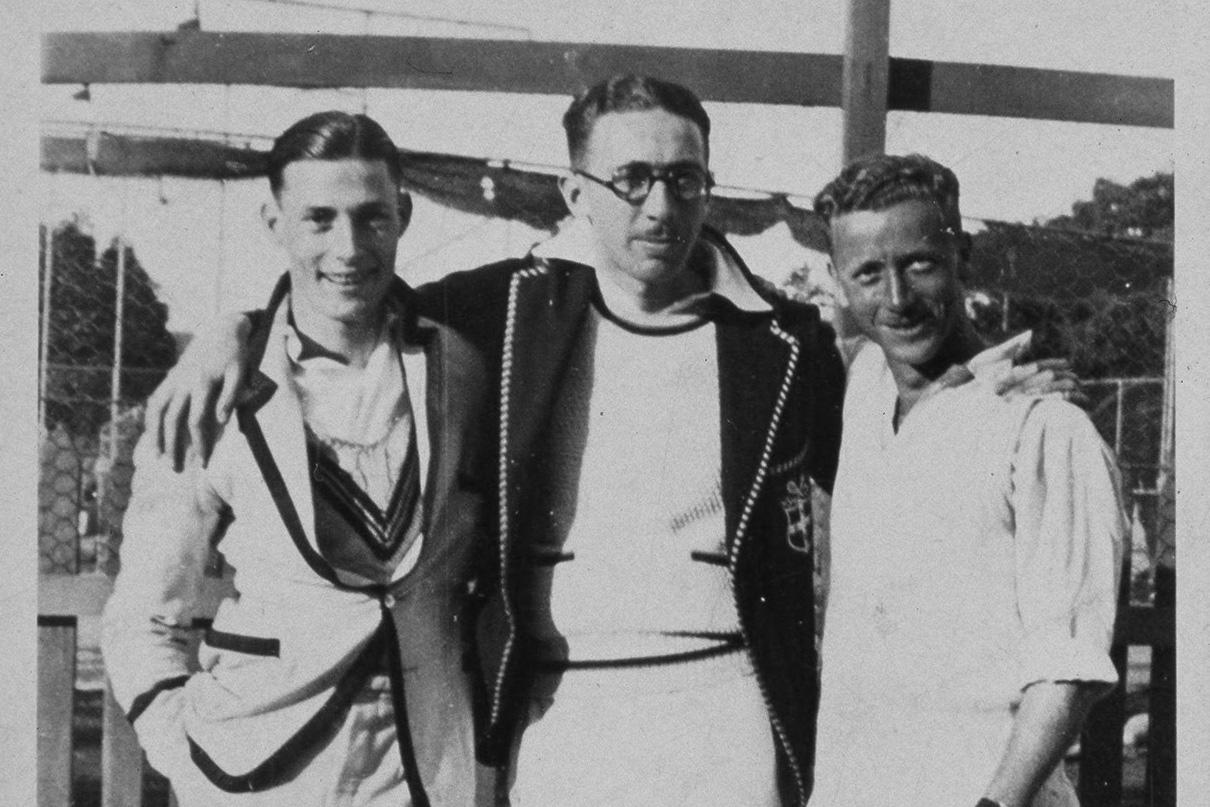 c.1930s (right: Eddie Jensen)