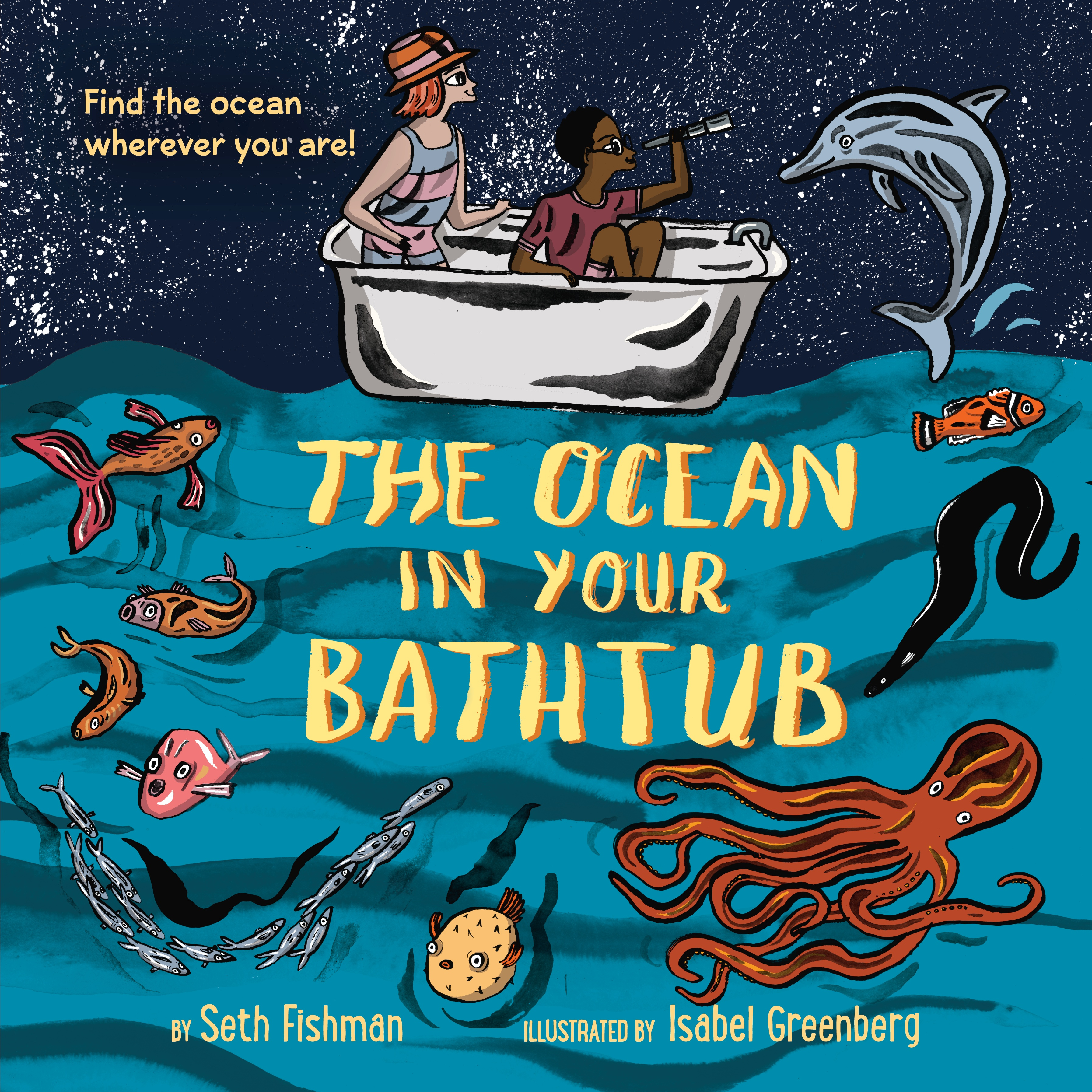The Ocean in Your Bathtub. Story Time with Mississippi Aquarium =